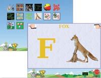 «Звериный алфавит» — лучшая из 14 развивающих игр комплекта Childsplay