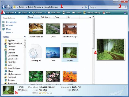 Windows Explorer: новые методы манипулирования и поиска файлов