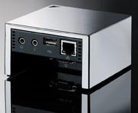 Устройство Pano представляет собой небольшой серебристый куб. Вустройстве нет центрального процессора, оперативной памяти, программных драйверов или операционной системы. Вместе стем оно позволяет соединить клавиатуру, мышь, дисплей идругую периферию пользовательского компьютера по USB спрограммной средой под управлением Windows Vista или Windows XP, выполняющейся на удаленном сервере