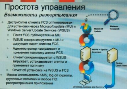 Возможности развертывания FCS