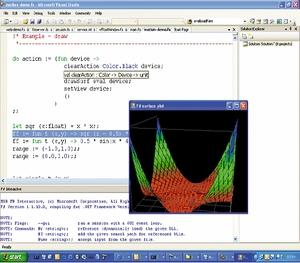 Язык F# интегрирован всреду Visual Studio, иMicrosoft продолжает работать над его дальнейшим развитием исовершенствованием