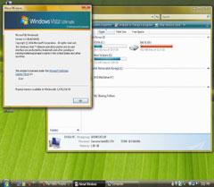 Благодаря  второй версии программы Windows Genuine Advantage, новую операционную систему Windows Vista стало гораздо сложнее использовать внелицензионном варианте, нежели предыдущую версию— Windows XP, вкоторой впервые были применены встроенные антипиратские инструменты