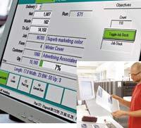 EFI предлагает рассчитанные на полиграфические предприятия решения для планирования производственных ресурсов, в т. ч. Auto-Count CIM