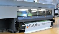 Я проверял качество печати Rho 351R по текстилю и стандартному баннерному материалу— весьма впечатляет