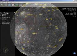 Nasa World Wind: Юпитер