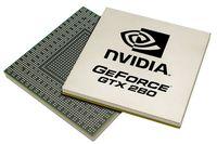 GeForce GTX 280 станет самым большим графическим процессором из всех, которые когда-либо создавала nVidia; в нем 1,4 млрд транзисторов, а вычислительная мощность достигает 933 GFLOPS
