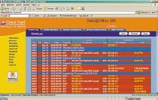 Рисунок 1. Журнал событий предоставляет информацию о статусе отклоненных соединений. В зависимости от настроек возможен просмотр принятых соединений.