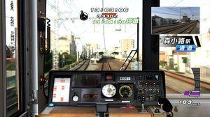 Программисты компании Ongakukan, партнера Fujitsu, разработали игры, имитирующие движение поезда, на основе данных о железных дорогах Франции, Германии и Тайваня