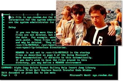 Приход Microsoft и Xenix