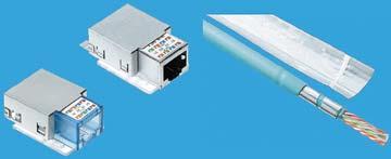 Рисунок 6. Технология виртуального заземления и экранирования WARP (элементы подавления волн): отрезки фольги достаточно коротки, чтобы не вызывать эффект антенны, и достаточно часты для предотвращения перекрестных помех.