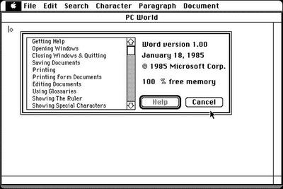 Тем временем на платформе Macintosh