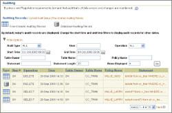 С помощью ILM Assistant пользователи Oracle могут создать рекомендации по жизненному циклу, которые назначаются таблицам вих базе данных. Исходя из политики управления жизненным циклом, установленной пользователем, этот инструментарий определяет, как лучше обрабатывать данные, каковы требования кхранению данных икак сократить затраты на хранение