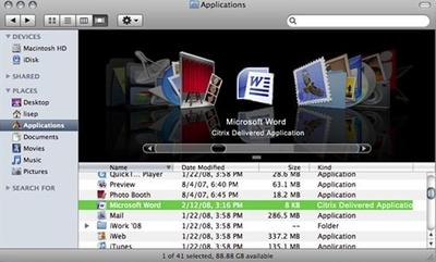 В Citrix переработали технологии XenApp и XenDesktop таким образом, чтобы сделать возможным использование таких уникальных функций iPhone, как сенсорные графические элементы, буксировку, масштабирование и панорамирование