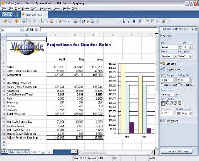 Корпорация IBM на протяжении многих лет держалась встороне от Open?Office.org илишь совсем недавно присоединилась кданному сообществу. Это не значит, что создатели Symphony пренебрежительно относятся кбесплатному пакету OpenOffice. Однако вIBM совершенно четко нацелены на то, чтобы добиться более весомых успехов исоставить достойную конкуренцию Microsoft Office. Именно для решения этой задачи ибыл выбран стандарт ODF