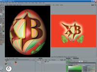 Рис. 1. По дизайну десятая версия заметно отличается от предыдущих. Виды программы в режиме анимации (а) и BP 3D Paint (б)