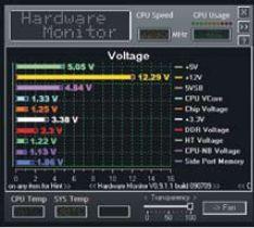 Утилита Biostar T-Series Overclock 3 позволяет осуществлять разгон процессора, ОЗУ и шины HyperTransport прямо из операционной системы