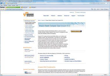 Рисунок 1. Amazon Elastic Computе Cloud — один из многочисленных новых подходов к предоставлению серверных мощностей через Internet.