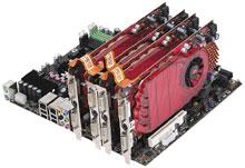 новые? видеокарты— ATI Radeon HD 3850 иHD 3870 поддерживают спецификацию Microsoft's DirectX 10.1, позволяющую добиться лучшего качества изображения