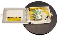 Рисунок 2. Наличие системы хранения избытка длины коммутационных шнуров позволяет осуществлять инсталляцию оптической кабельной системы по всему зданию в соответствии с принципом Plug-and-Play.
