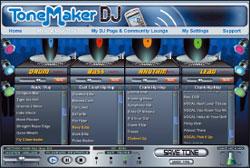 ToneMaker DJ: доступ только через веб