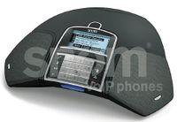Рисунок 4. Snom Technology предлагает решение для проведения телефонных конференций с качеством Hi-Fi и без сложных кодов коммутации. Это достигается путем интеграции службы для проведения аудиоконференций ZipDX в конференц-телефон Snom Meeting Point, а также во все другие телефоны Snom, поддерживающие корпоративную технологию Klar Voice.