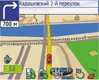 Вновой версии программы «Автоспутник 3.2» используются карты компании Tele Atlas, включающие более 40 городов России иприлегающих кним областей, есть икарты некоторых стран СНГ