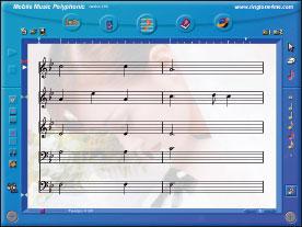 Mobile Music Polyphonic: рингтон можно написать и с чистого листа