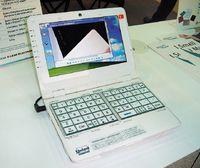 Умини-ноутбуков две беды— неудобная клавиатура ималенький экран; вE-Lead Electronic решили справиться собеими