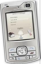 Владельцы мобильных телефонов смогут через шлюз Home Control Center управлять своими охранными системами, отоплением ивентиляцией