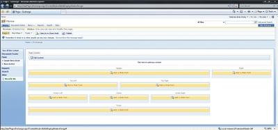Экран 3. Ссылки для добавления Web-частей