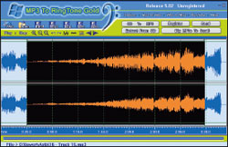 MР3 To Ringtone Gold: умеет копировать музыкальные CD