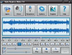 Kylix Ringtone Maker: в деморежиме длительность рингтона 8 с