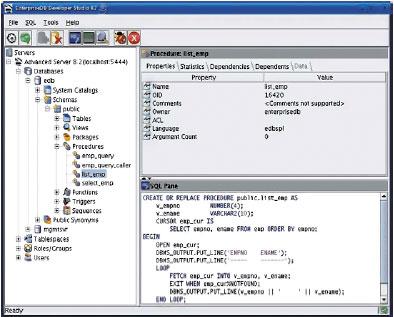 Дистрибутив, получивший название EnterpriseDB Postgres, объединяет всебе последнюю версию PostgreSQL и12 самых популярных модулей расширения для этого программного обеспечения, втом числе инструментальные средства для шифрования, поддержки безопасности, полнотекстового поиска ирепликации