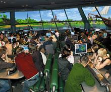 Образовательно-развлекательный комплекс «Транс-Форс» позволяет увидеть далекие планеты из «космического корабля», «погрузиться» в глубины океана, «совершить экскурсии» по городам мира