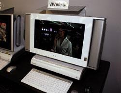 В компьютере Valuestar W установлен цифровой ТВ-тюнер иустройство для чтения изаписи дисков формата Blu-ray. Этот компьютер призван заменить телевизор, ипоэтому он должен работать бесшумно, ведь шум компьютера может испортить все удовольствие от фильма