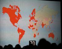 В Северной Америке телефон поступит впродажу 11 июля, азатем постепенно появится на рынках 70 стран мира, втом числе вИндии, Сингапуре иАвстралии