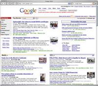 В компании Google считают, что воспроизведение насайте Google News заголовков новостей, отрывков текста иуменьшенных фотографий других новостных агентств является абсолютно законным