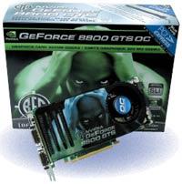BFG GeForce 8800 GTS OC 320Mb