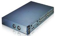 Рисунок 3. Наращивание емкости IP-УАТС X6004 компании ZyXEL возможно путем объединения в стек до 5 шасси, при этом общее количество пользователей увеличивается до 640.