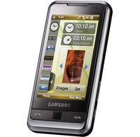 В первую очередь в Samsung Omnia обращает на себя внимание дисплей с диагональю 3,2 дюйма, который занимает почти всю переднюю панель телефона, а под ним расположены три кнопки