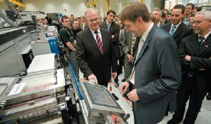 Heidelberg представила комбинированную печатную машину Gallus, адаптированную под печать электронных компонентов
