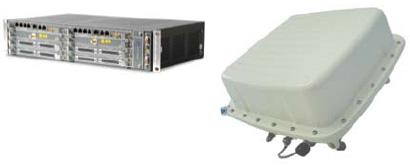 Коммутатор MSS и выносной узел системы 9500 MPR