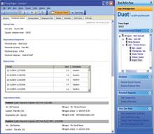 Версия Duet 1.0, ранее известная под названием Project Mendocino, вышла виюне 2006года; кнастоящему времени, по заявлению SAP, ее использует уже более 250 организаций