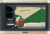 Аппарат ASUS R700 пришел на смену популярной модели ASUS R600. Почти всю переднюю панель занимает большой сенсорный экран. Слева от него находятся два светодиода — индикаторы уровня заряда и готовности Bluetooth. Там же расположен слот для карты памяти microSD, справа установлены 2,5-мм разъем для гарнитуры и порт мини-USB для зарядки и соединения с ПК