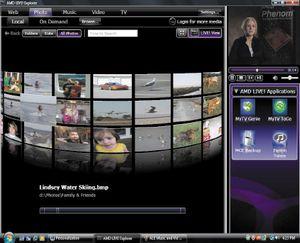 Fusion Media Explorer дает пользователям возможность просматривать музыкальные и видеоальбомы