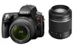 Sony представляет камеры с полупрозрачным зеркалом