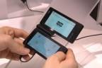 Fujitsu создает прототип телефона LTE с двумя экранами