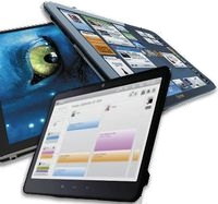 Возможные альтернативы iPad: Neofonie WePad,  Notion Ink Adam и Innovative Converged Devices Vega