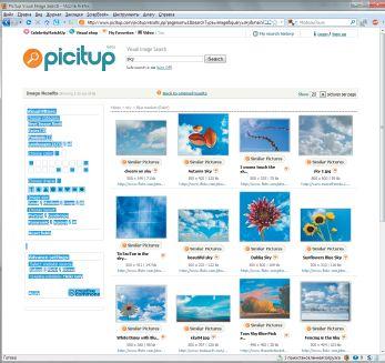 Сервис Picitup предлагает сразу несколько типов визуальных фильтров