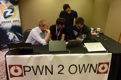 iPhone, Safari, IE8 и Firefox капитулировали на Pwn2Own Pwn